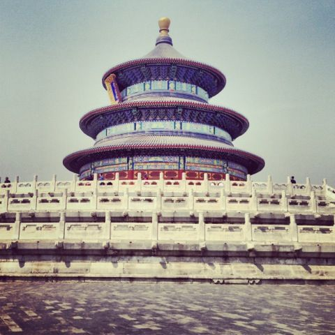 Temple of Heaven (dating back to 1400s)