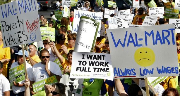 Wal-Mart has a very public history of employee backlash.