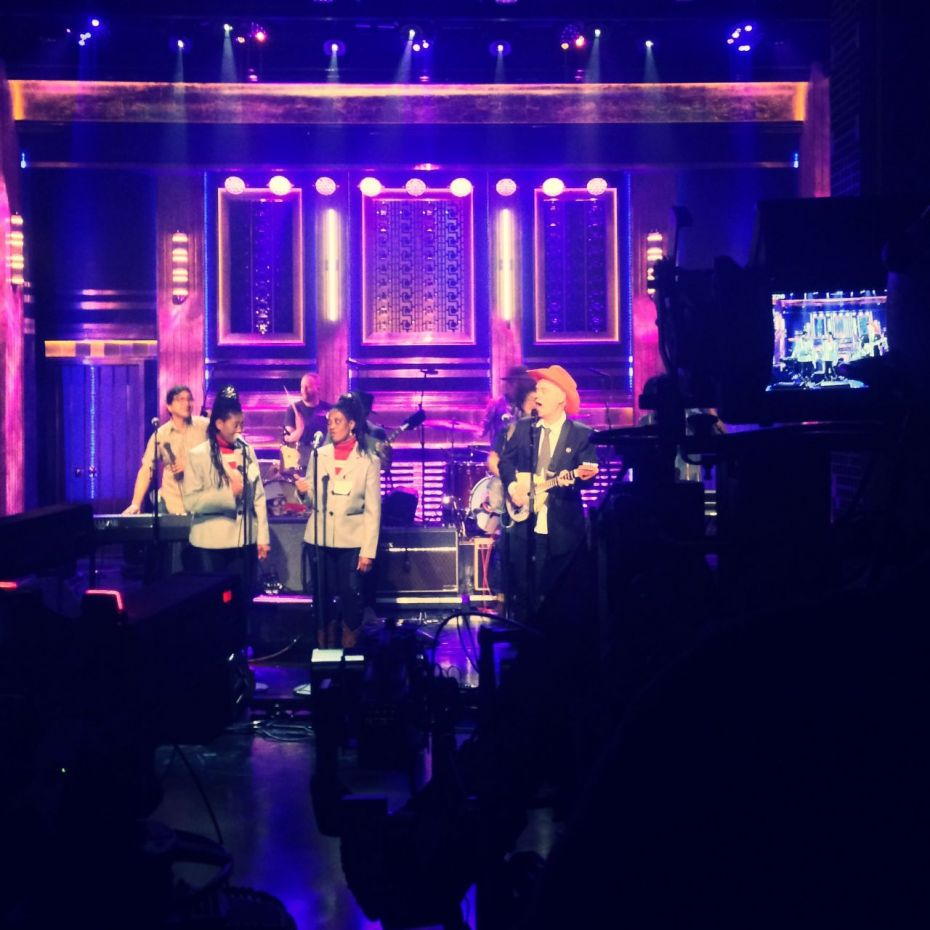 Groovin' on the Tonight Show.