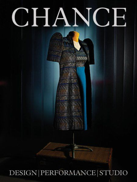 A glimpse into Chance Issue 2: On the cover, Imelda Marcos' iconic butterfly sleeves.