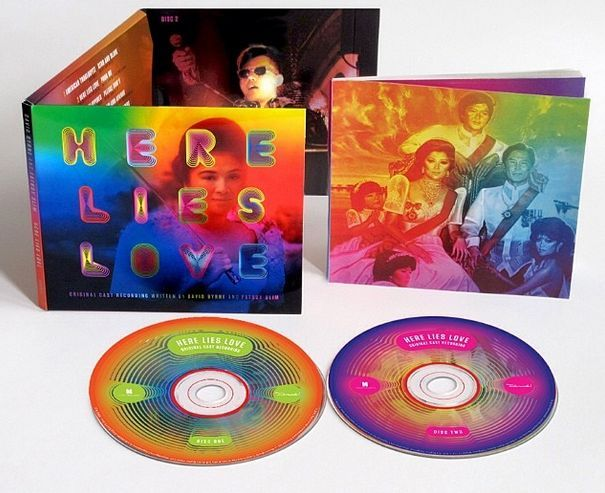 The 2-disc package for Here Lies Love.