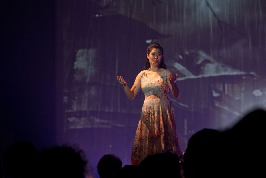 Ruthie Ann Miles won best lead actress in a musical for her role as Imelda Marcos.