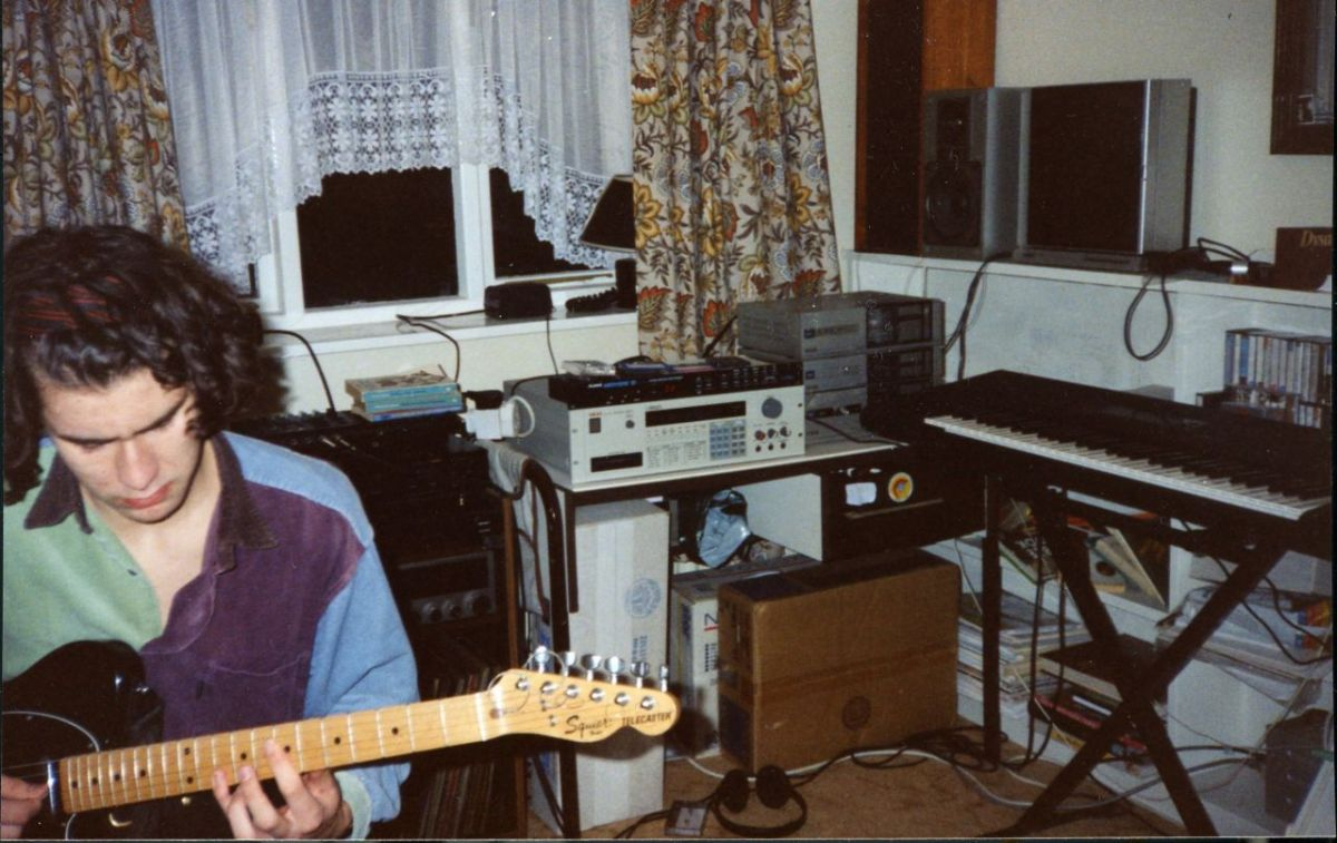 17 year old Jamie in Brompton, England—around the time he got his first P-funk record!