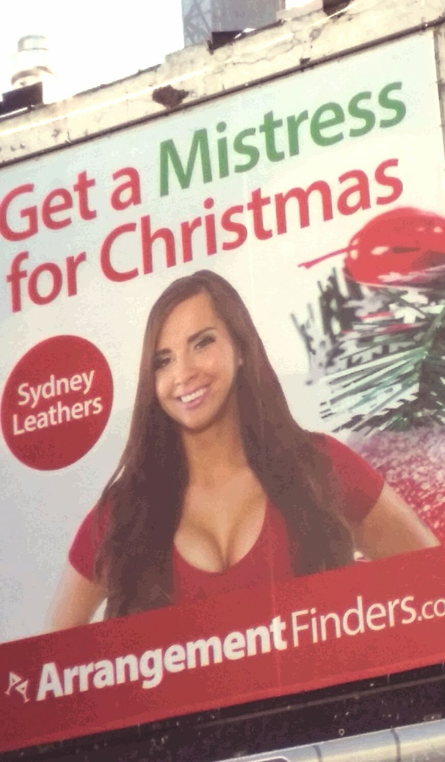 Sydney Leathers can help you through the Holland Tunnel/tunnel of matrimony.