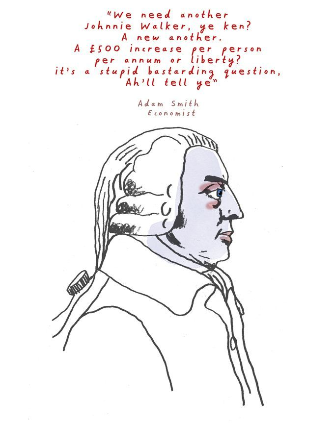Adam Smith, Economist.