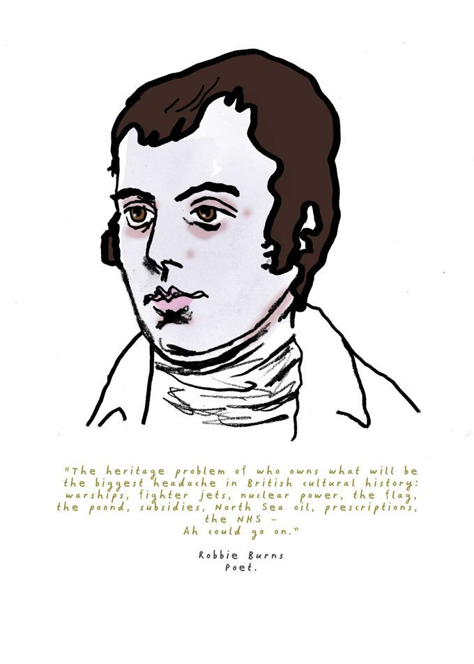 Robert Burns, Poet.