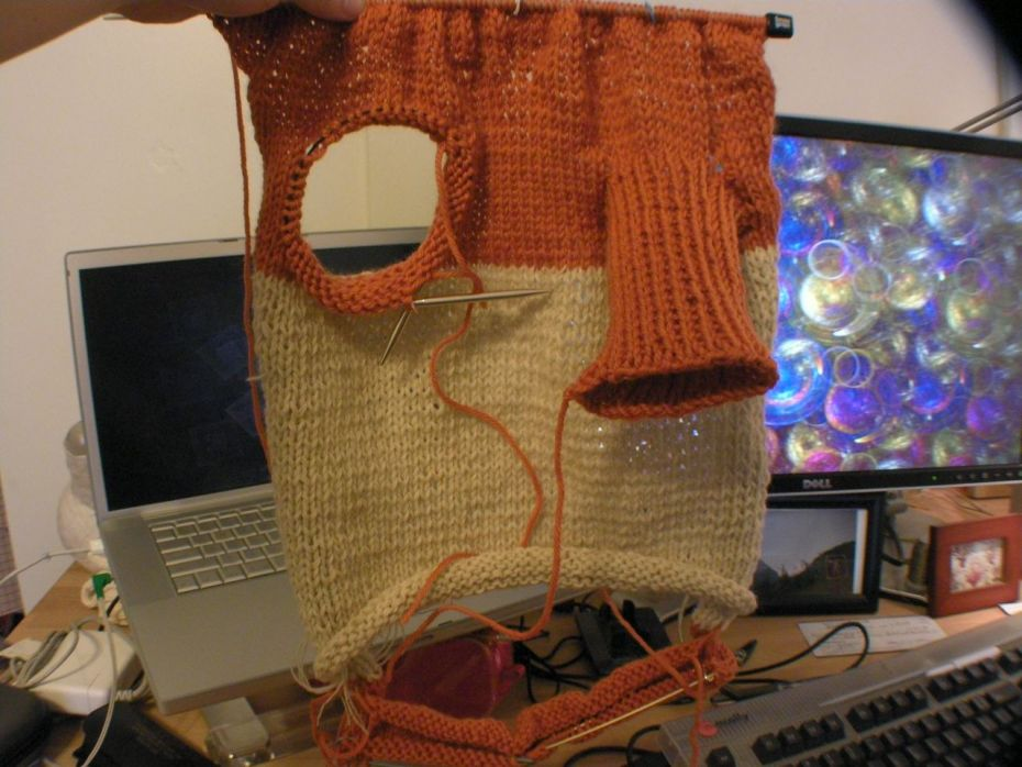 Knitting needles-the best defense against today's technology?
