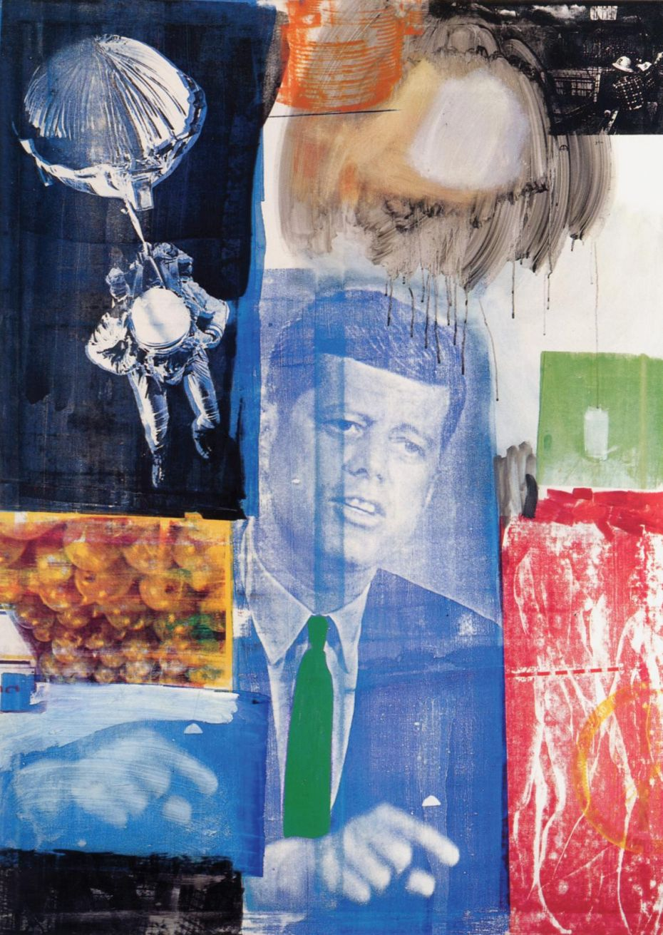 Robert Rauschenberg, 'Retroactive 1', 1963, Oil and silkscreen on canvas, 84 × 60 in.